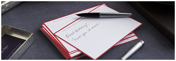 Create your bespoke correspondence cards online