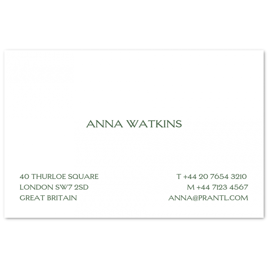 Traditional visiting cards prantl since 1797 share this reheart Gallery