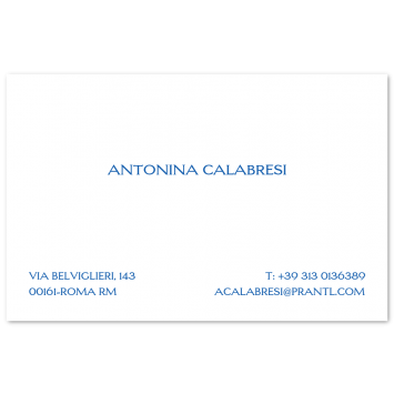 Engraved Visiting Cards