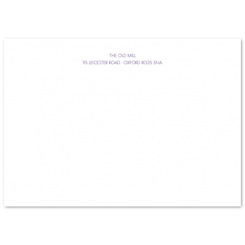 Traditional A6 Correspondence Cards
