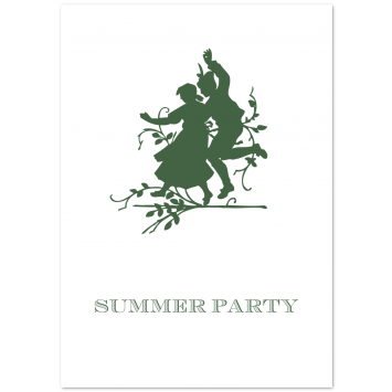 "Bespoke Folded Invitations ""Summer Dance"""
