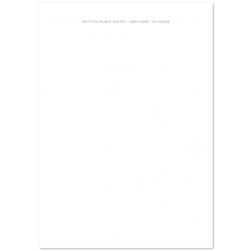 Traditional A4 Writing Paper