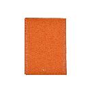 Orange Leather Folded Photo Frame