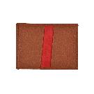 Tan Folding Card Case