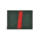 Green Folding Card Case