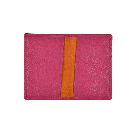 Pink Folding Card Case
