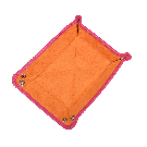 Small Travel Tray in Pink / Orange