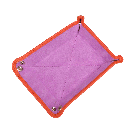 Small Travel Tray in Orange / Purple