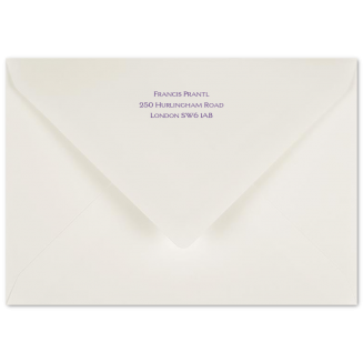 Matching Printed C6 Envelopes
