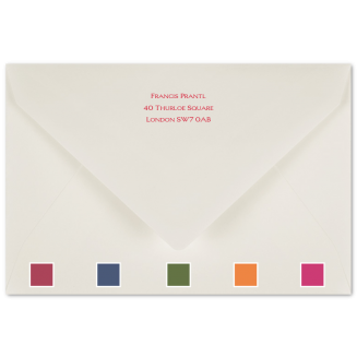 Matching Printed Envelopes with Coloured Tissue Lining