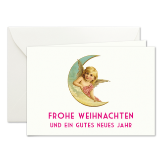 Weihnachtskarten mit Halbmond