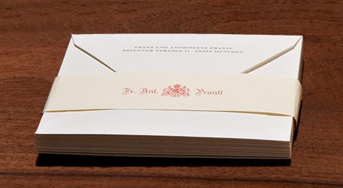 Briefkuverts mit und ohne Druck